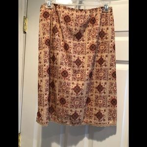 Woman's Skirt Size M Fully Lined